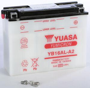 yuasa battery yb16al-a2 yuam22162 fits: ducati monster 900,monster