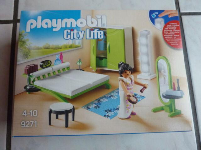 PLAYMOBIL City Life 9271 - Schlafzimmer