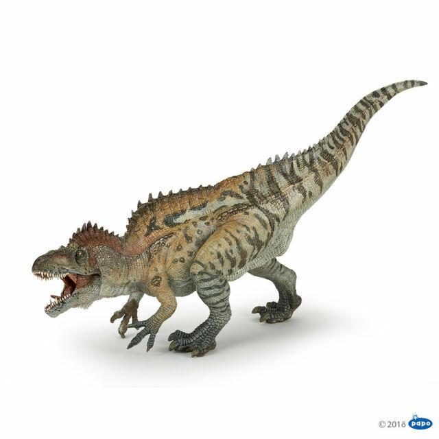Multicolor Papo Therizinosaurus Figure