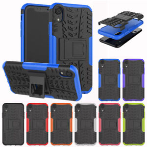 For iPhone XS Max / XS / XR Shockproof Rugged Hybrid Rubber Armor Case Cover