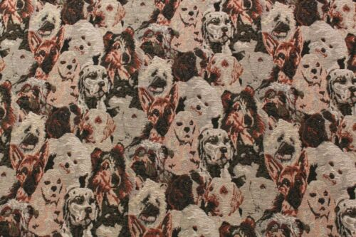 "Clothing Cats /& Dogs Animal Bags 60/"" Upholstery Premium Soft Tapestry Fabric"