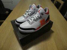 d1223b472a1b Nike Air Jordan 3 Retro GS Fire Red   White UK 5 US 5.5 24cm 398614 ...