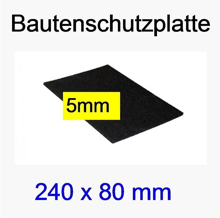150 Stk.  24cm x 8cm  Bautenschutz-Platten BPM, Pads, 5mm , Terrazzoplatten