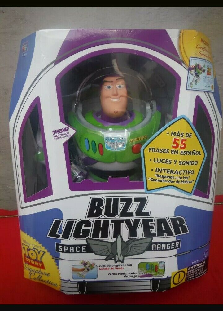 Buzz Lightyear - Space (Toy Story Collection) Original Replica in Spanish OOP