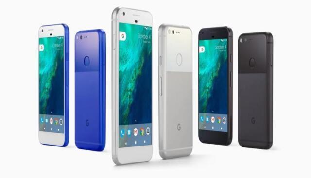 Google Pixel XL 32/128GB  Unlocked Quite Black , Very Silver, Really Blue