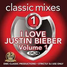 DMC Justin Bieber Megamixes & 2 Trackers Mixes Remixes Ft Ariana Grande DJ CD