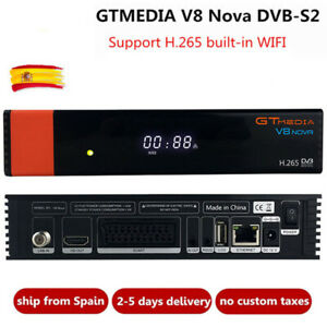 GTMedia V8 Nova Full HD DVB-S2 Wifi Satellite Receiver Same Freesat V9 Super