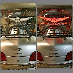 Rear-Air-deflector-Wind-deflector-glass-Honda-goldwing-1800-Gold-Wing-GL1800