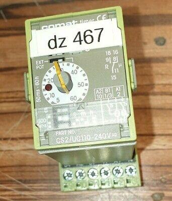 CX 39//ATXStern-Dreieck-Relais Mit Sockel MULTICOMAT ZEITRELAIS