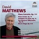 David Matthews - : Music for Piano (2013)