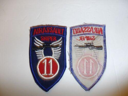 b0559 Vietnam 11th Air Assault Division Sniper 1st Air Cavalry IR40D