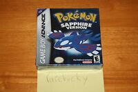 Pokemon: Sapphire Version (gameboy Advance) Sealed H-seam, Rare
