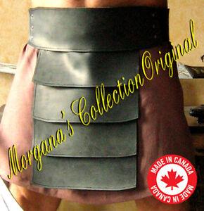 Medieval Roman Gladiator Large Leather Belt Armor