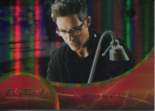 The Flash Season 2 Parallel Foil Base Card #17