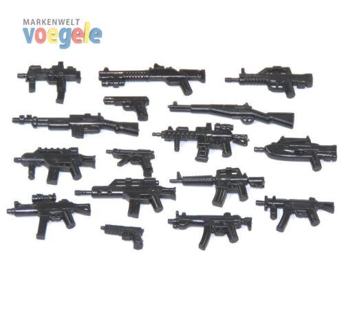 Custom CombatBrick Waffen Set 16 für LEGO® Figuren Waffe Gewehr WW2 R1/R6/F6 Baukästen & Konstruktion