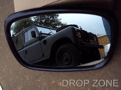 """NEW Standard  7/""""x 5/"""" Mirror Head Land Rover Series II//IIA//III 1//2//3 P//N:DA2130"""