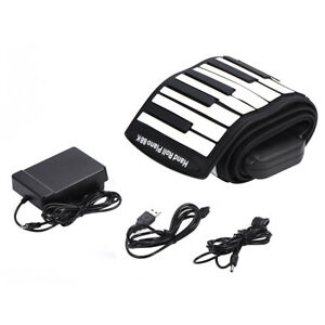 Portable-88-Keys-Flexible-Roll-Up-Piano-Electronic-Keyboard-Hand-Roll-Piano-NEW