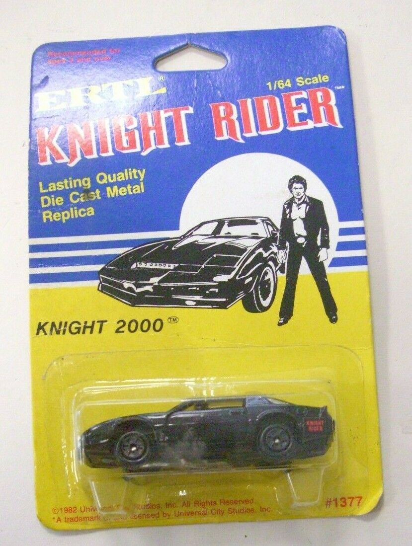 ERTLE DIE CAST METAL REPLICA KNIGHT RIDER 2000 1982 1 64 PONTIAC TRANS AM KITT