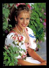 Stefanie Hertel Autogrammkarte Original Signiert ## BC 88682