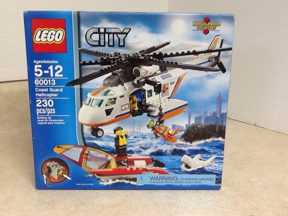 Lego City Coast Guard Helicopter 60013 RETIROT