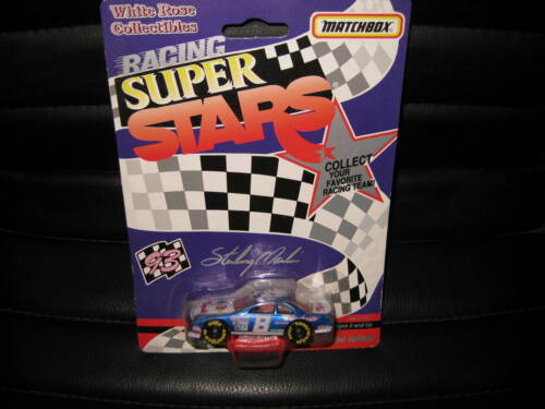 MATCHBOX WHITE ROSE COLLECTIBLES NASCAR SUPER STAR STERLING MARLIN #8 RAYBESTOS