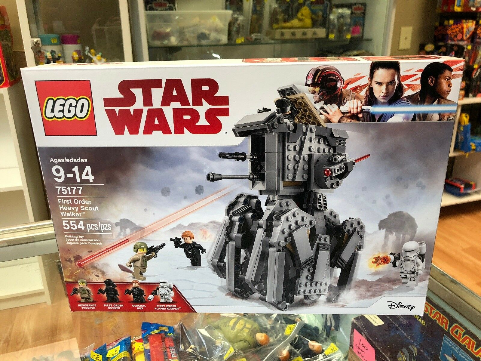 NEW LEGO Star Wars First Order Heavy Scout Walker  75177
