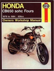HONDA-CB650-Fours-owner-039-s-MANUAL-DE-TALLER-Motocicleta-Manuales-por