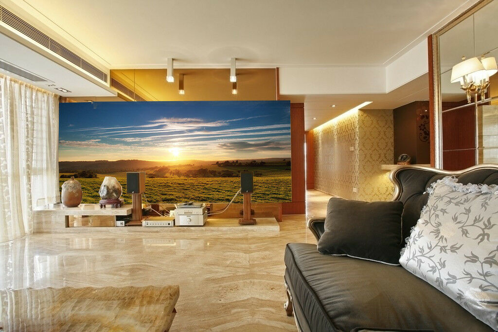 3D Sunlight Lawn 946 Wallpaper Mural Wall Print Wall Wallpaper Murals US Summer