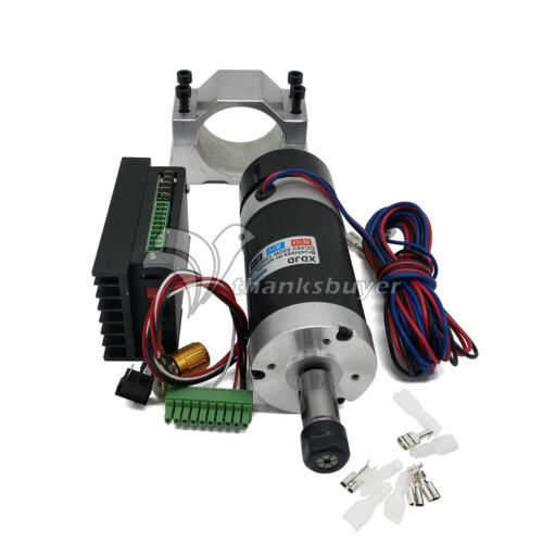 ER11 500W CNC Driver Controller Brushless Motor Fixture for Engraving Machin