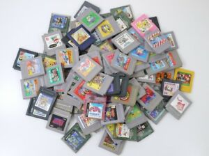 Junk-WHOLESALE-GAME-BOY-random-Lot-100-Nintendo-Cartridge-Gameboy-GB-set