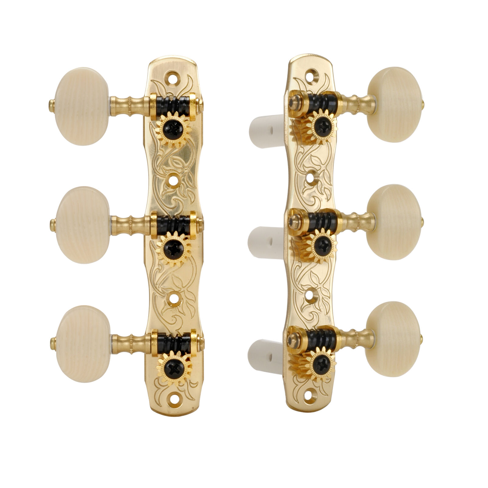 Gotoh Classical Guitar Tuners, With ivGoldid knobs