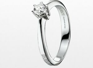 Image Is Loading Ring Solitaire Damiani Enchantment 20005194 Diamond Wedding