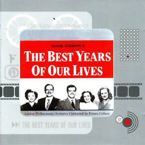 Details about The Best Years of Our Lives-1946-Original Movie Soundtrack CD