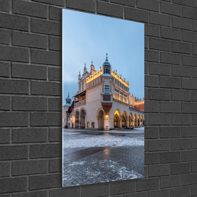 Wand-Bild Kunstdruck aus Acryl-Glas Hochformat 50x100 Krakau Polen