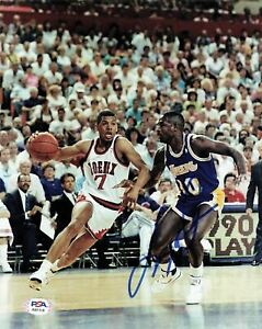 Larry Drew signed 8x10 photo PSA/DNA Los Angeles Lakers Autographed