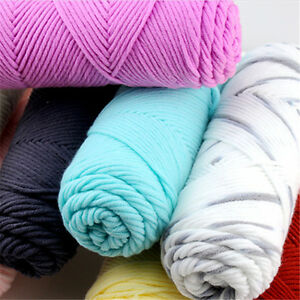 Crochet-Knitting-Super-soft-wool-yarn-Chunky-hand-Crafts-100g-Fashion-Hot-sale