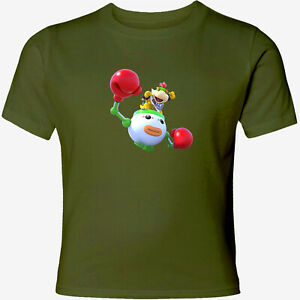 Details About Nintendo Super Mario Bowser Jr Olympic Boxing Games Unisex Mens Womens T Shirt