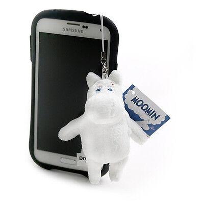 BNWT Cute Moomin Plush Anti Dust Earphone Plug with charm MuminTroll Doll Hippo