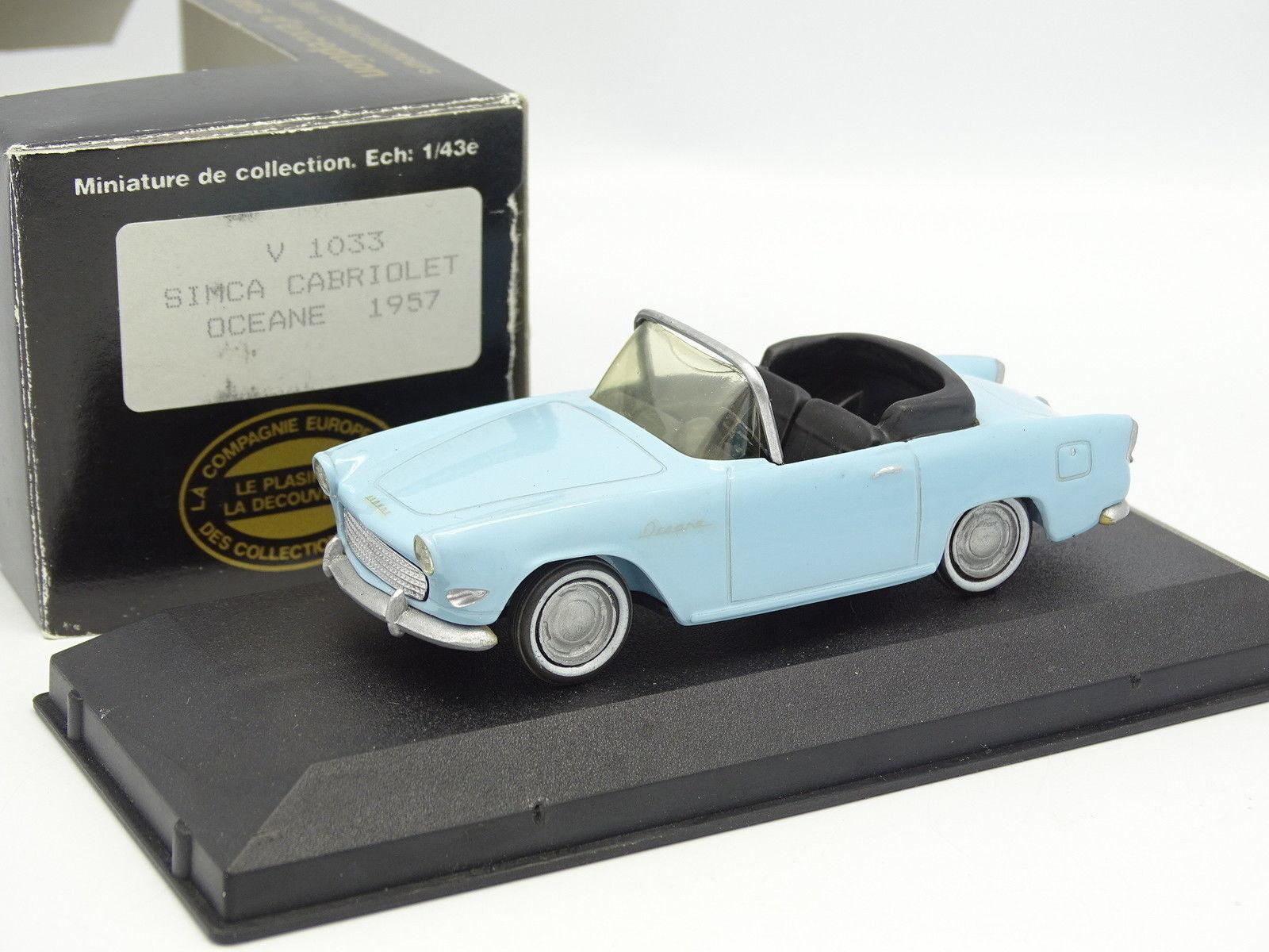 más descuento Estrellater N7 Provence Resina 1 43 43 43 - Simca Oceane 1957 Azul By Cec  barato