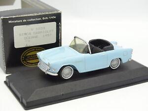 Starter-N7-Provence-Resine-1-43-Simca-Oceane-1957-Bleue-by-CEC