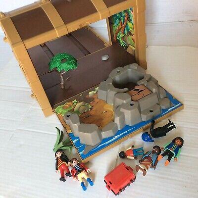 Playmobil verschiedene Schatztruhen Schatzkisten befüllt// bunte Dekosteinchen