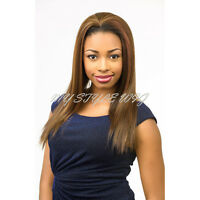 Bohemian Wig Pure Natural Synthetic Half Wig - Hfw Yaki Straight 20 By Diana