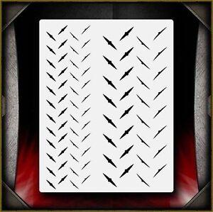 Diamond Plate 3 Airbrush Stencil Template Airsick