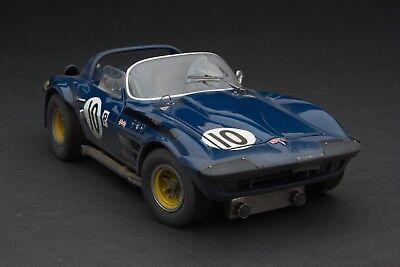 RACE WEATHERED | Exoto 1966 Penske Corvette GS | Sebring / 1:18