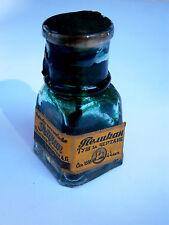 ANTIQUE OLD GERMAN FOUNTAIN PEN PELIKAN PEARL INK BOTTLE 1930's