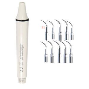 Manipolo-Ablatore-Dentista-Ultrasonic-Scaler-Handpiece-10-Tips-EMS-Woodpecker