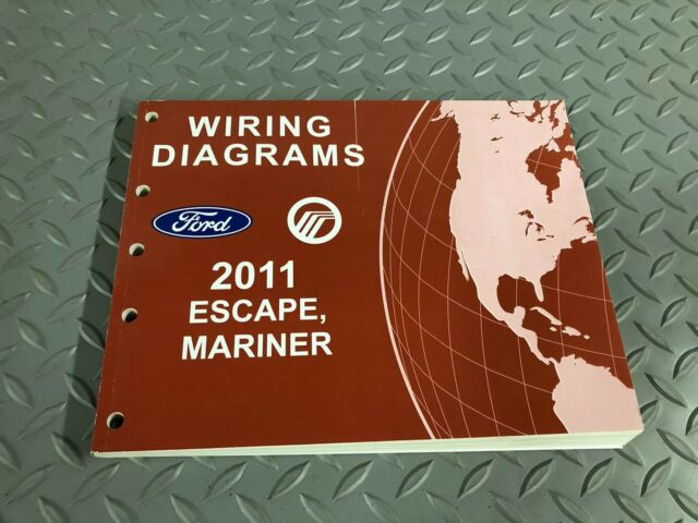 2011 Ford Escape Mariner Electrical Wiring Diagram Manual Ewd Factory Service