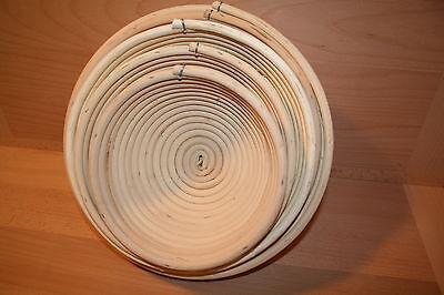 Gärkorb Gärkörbe Brotform Peddigrohr 0,25 - 2,0 kg Brot  rund Made in Germany