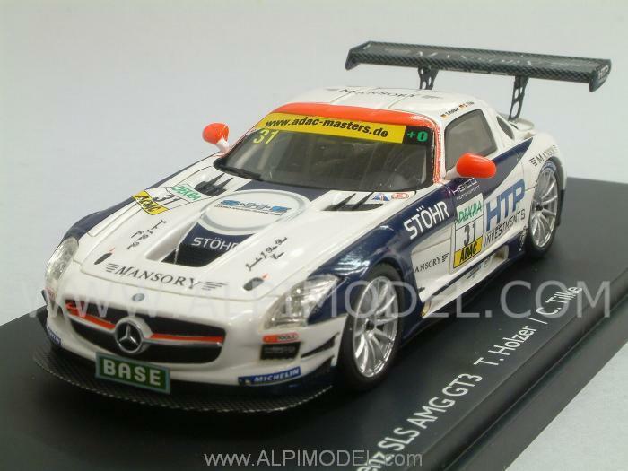 Mercedes SLS AMG GT3 ADAC Nurburgring Holzer - Tilke 1:43 SCHUCO 450882200