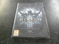 PC DIABLO REAPER OF SOULS - COLLECTORS EDITION - NEW SEALED